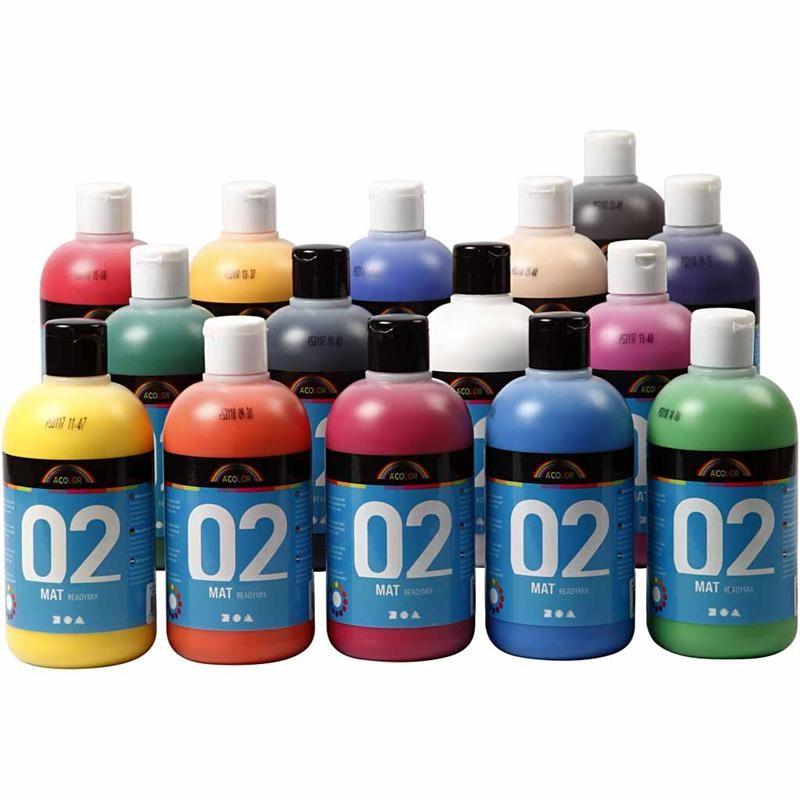 Ματ Ακρυλικές Μπογιές Α-Color
