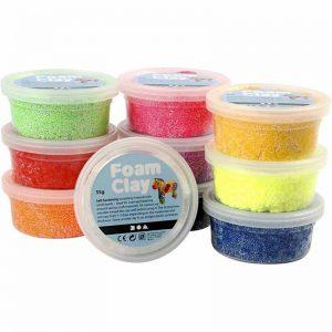 Πλαστελίνη Cernit, Pardo Soft, Silk & Foam Clay