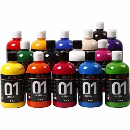Glossy Acrylic Paint Α-Color