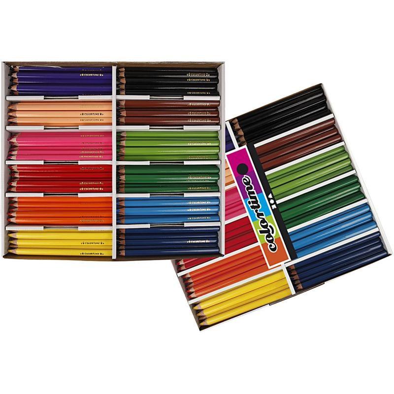 Colortime Χρωματιστά Μολύβια